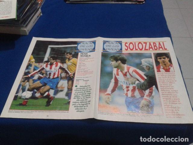 Coleccionismo deportivo: POSTER SOLOZABAL ATLETICO DE MADRID DE LA REVISTA DON BALON - Foto 3 - 109028895