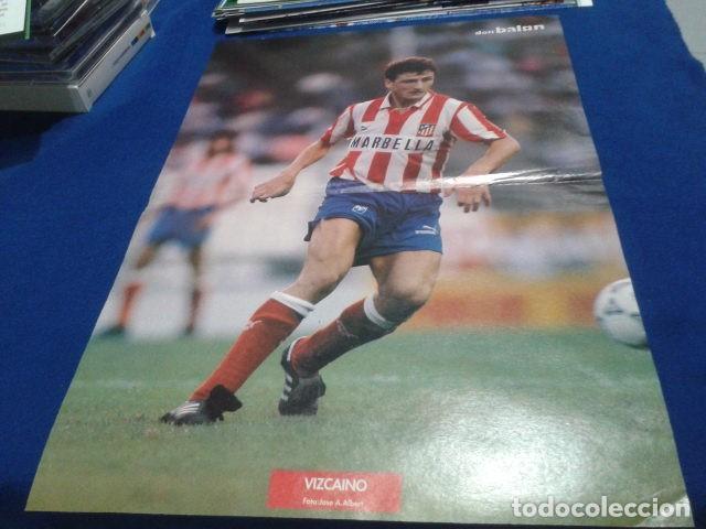 POSTER VIZCAINO ATLETICO DE MADRID DON BALON (Coleccionismo Deportivo - Revistas y Periódicos - Don Balón)