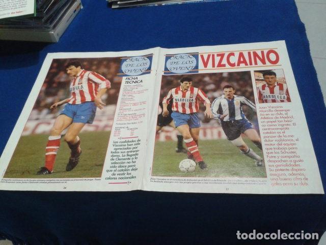 Coleccionismo deportivo: POSTER VIZCAINO ATLETICO DE MADRID DON BALON - Foto 2 - 109030851