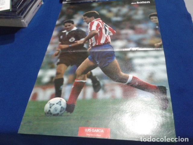 POSTER LUIS GARCIA ATLETICO DE MADRID DON BALON (Coleccionismo Deportivo - Revistas y Periódicos - Don Balón)