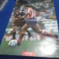Coleccionismo deportivo: POSTER LUIS GARCIA ATLETICO DE MADRID DON BALON. Lote 109031087