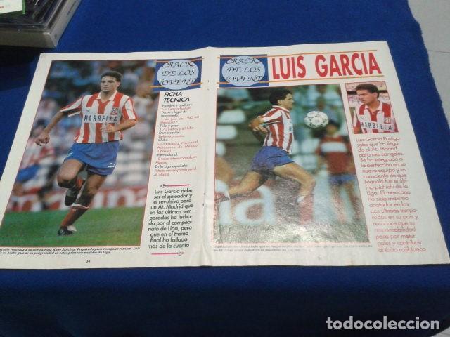 Coleccionismo deportivo: POSTER LUIS GARCIA ATLETICO DE MADRID DON BALON - Foto 2 - 109031087