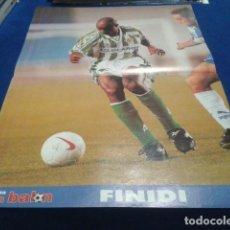 Coleccionismo deportivo: POSTER FINIDI BETIS DON BALON. Lote 109048915