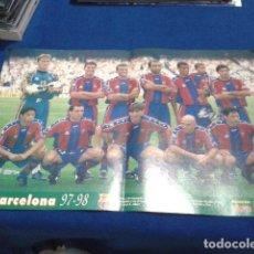Coleccionismo deportivo: POSTER FC BARCELONA 97/98 DON BALON. Lote 109050043