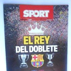 Coleccionismo deportivo: BARÇA - REVISTA DE SPORT DE MAYO 2016 - EL REY DEL DOBLETE - FC BARCELONA - 52 PÁGINAS - VER FOTOS -. Lote 109101212