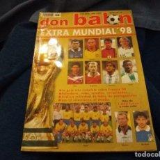 Coleccionismo deportivo: REVISTA DON BALON EXTRA MUNDIAL 98 FRANCIA. Lote 109187803