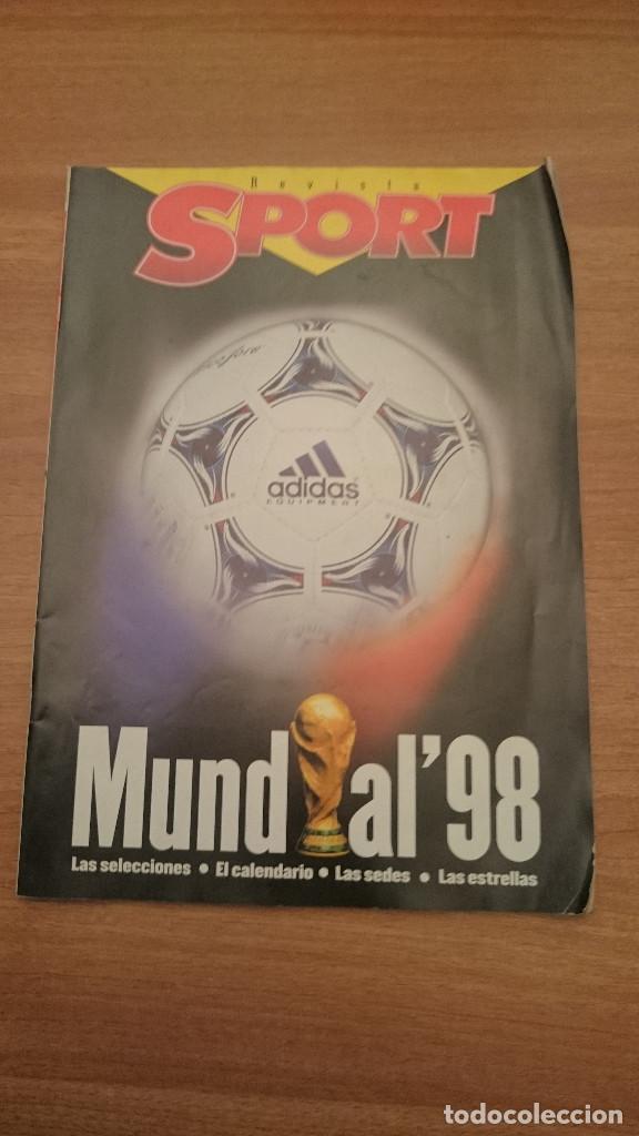 REVISTA SPORT - MUNDIAL 98 - (Coleccionismo Deportivo - Revistas y Periódicos - Sport)