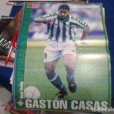 Coleccionismo deportivo: POSTER DON BALON ( GASTON CASAS ) REAL BETIS. Lote 110083363