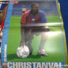 Coleccionismo deportivo: POSTER DON BALON ( CHRISTANVAL ) FC BARCELONA. Lote 110083559