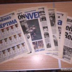 Coleccionismo deportivo: RECORTES DIARIO AS Y MARCA REAL MADRID CAMPEÓN COPA DE EUROPA 1998 LA SÉPTIMA. Lote 110137655