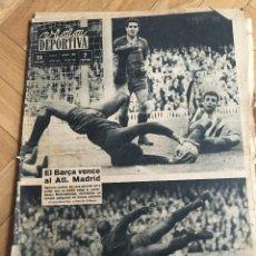 Coleccionismo deportivo: VIDA DEPORTIVA (7-10-63) BARCELONA ATLETICO MADRID ENTRADAS ESPAÑOL ELCHE . Lote 110402983