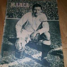 Coleccionismo deportivo: MARCA, SEMANARIO GRÁFICO DE LOS DEPORTES, AÑO XI Nº 377, MADRID 21 FEBRERO 1950. Lote 110448895