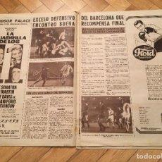Coleccionismo deportivo: VIDA DEPORTIVA REAL MADRID 3-2 BARCELONA ESPANYOL 1-2 ATLETICO MADRID VILLALONGA. Lote 110453055