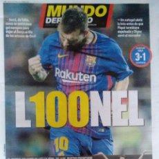 Coleccionismo deportivo: MESSI, 100 GOLES EN EUROPA. Lote 117698971