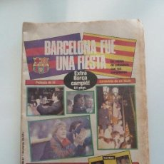 Coleccionismo deportivo: DIARIO SPORT Nº 1931 BARCELONA BARÇA CAMPEON DE LIGA 1984 1985 SCHUSTER VENABLES. Lote 110968987