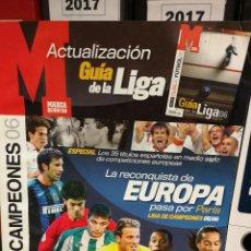 Coleccionismo deportivo: MARCA ACTUALIZACION GUIA LIGA DE CAMPEONES 06 2006. Lote 111114227