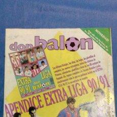 Coleccionismo deportivo: APENDICE EXTRA LIGA 90/91. Lote 111385235