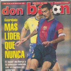 Coleccionismo deportivo - REVISTA DON BALON.N 1230.GUARDIOLA.POSTER RAUL.REAL MADRID. - 111416283