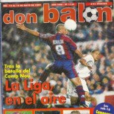 Coleccionismo deportivo: REVISTA DON BALON.N 1126.POSTER KIKO AT.MADRID.. Lote 111416391