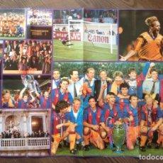 Coleccionismo deportivo: WEMBLEY 92. POSTER. BUEN ESTADO.. Lote 111431667