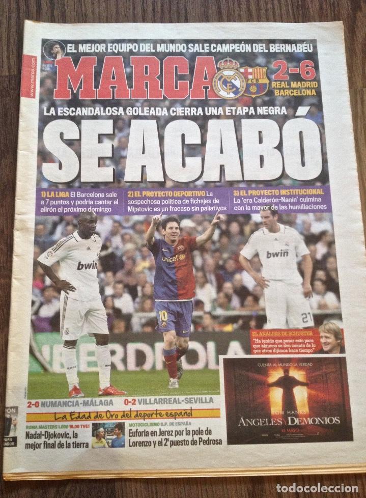 FC BARCELONA. 2-6 EN MADRID. MARCA. BUEN ESTADO. (Coleccionismo Deportivo - Revistas y Periódicos - Marca)