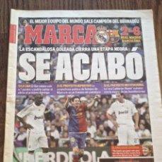 Coleccionismo deportivo: FC BARCELONA 2-6 EN MADRID. BUEN ESTADO.. Lote 111514303