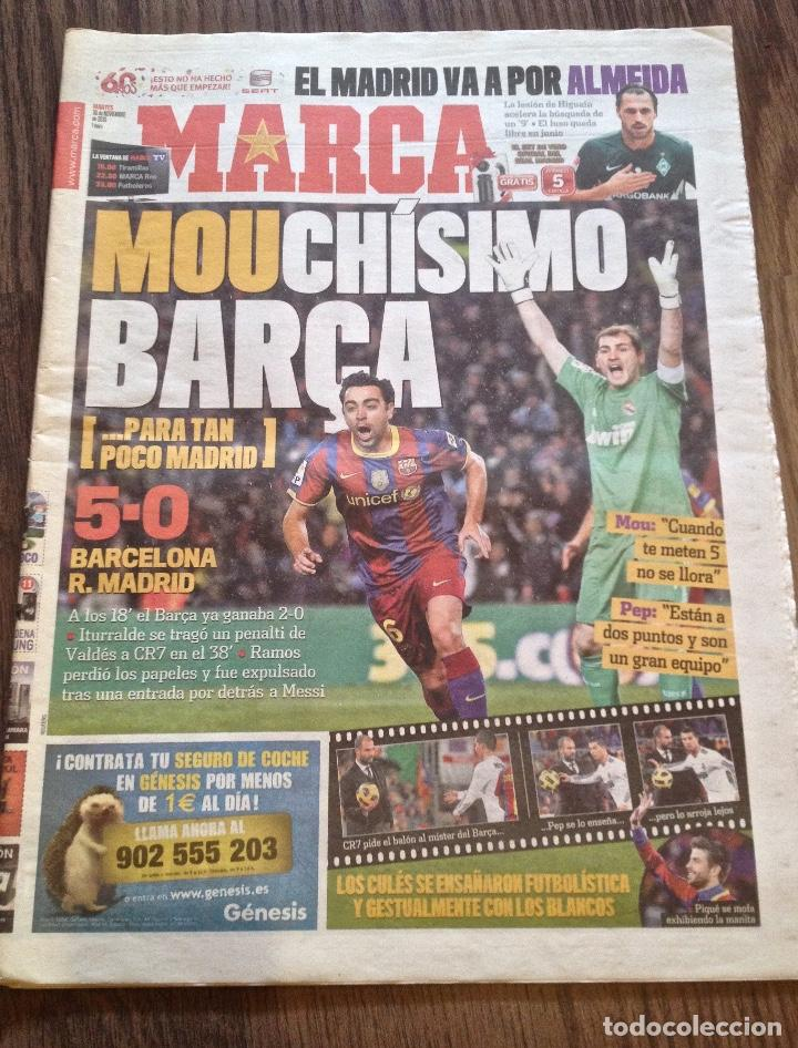 MESSI. FC BARCELONA. 5-0 AL REAL MADRID. BUEN ESTADO. (Coleccionismo Deportivo - Revistas y Periódicos - Marca)