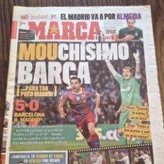 Coleccionismo deportivo: MESSI. FC BARCELONA. 5-0 AL REAL MADRID. BUEN ESTADO.. Lote 111515543