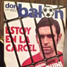 Coleccionismo deportivo: QUINI. DON BALON. BUEN ESTADO.. Lote 111527371
