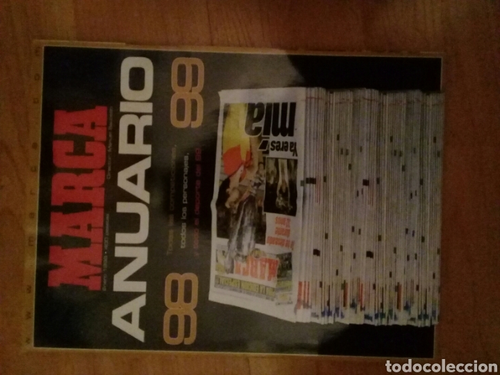 MARCA ANUARIO 98 - 99 (Coleccionismo Deportivo - Revistas y Periódicos - Marca)
