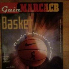 Coleccionismo deportivo: GUÍA MARCA BASKET ACB 1999 2000 ANUARIO TEMPORADA. Lote 111629628