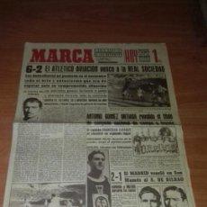Coleccionismo deportivo: DIARIO MARCA. SUPLEMENTO. Nº417. 28-MARZO-1944. 6-2 EL ATLETICO AVIACION VENCE A LA REAL SOCIEDAD.. Lote 111825743
