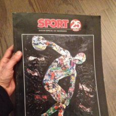 Coleccionismo deportivo: SPORT. 25 AÑOS. BUEN ESTADO.. Lote 111899831