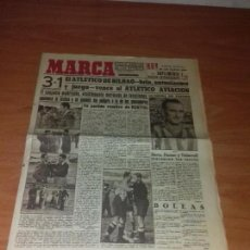 Coleccionismo deportivo: DIARIO MARCA. SUPLEMENTO. Nº154. 25-MAYO-1943. 3-1 EL ATLETICO DE BILBAO, BRÍO, ENTUSIASMO Y JUEGO.. Lote 111920951