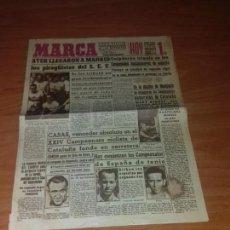 Coleccionismo deportivo: DIARIO MARCA. SUPLEMENTO Nº530. 8-AGOSTO-1944. AYER LLEGARON A MADRID LOS PIRAGUISTAS DEL S. E. U. . Lote 111924283