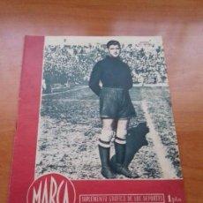 Coleccionismo deportivo: DIARIO MARCA. Nº116. 13-FEBRERO-1945. 2-0 EL ATLETICO AVIACION VENCE AL FERROL.. Lote 112241011