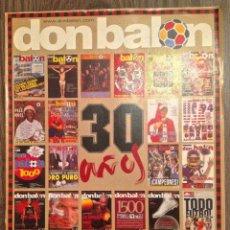 Coleccionismo deportivo: DON BALON ESP 30 ANIVERSARIO. PERFECTO ESTADO.. Lote 112247323