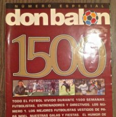 Coleccionismo deportivo: DON BALON ESP NUMERO 1500. PERFECTO ESTADO.. Lote 112247467