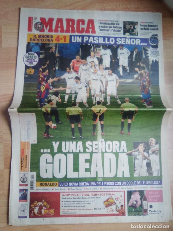 DIARIO MARCA 8 MAYO 2008-REAL MADRID 4 BARCELONA 1-PASILLO (Coleccionismo Deportivo - Revistas y Periódicos - Marca)