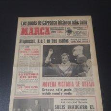 Coleccionismo deportivo: MARCA.7/03/1969. COPA EUROPA BALONCESTO.. Lote 112332527
