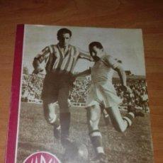 Coleccionismo deportivo: DIARIO MARCA. Nº155. 20-NOVIEMBRE-1945. 1-1 DESPUES DE NOVENTA MINUTOS DE JUEGO Y EMOCION. Lote 112371191