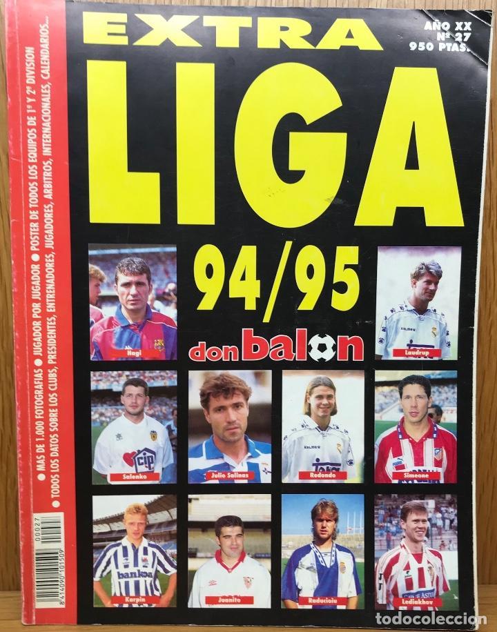 EXTRA LIGA FÚTBOL 94 - 95 (1994 - 1995) - REVISTA DON BALÓN (Coleccionismo Deportivo - Revistas y Periódicos - Don Balón)