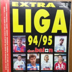Coleccionismo deportivo: EXTRA LIGA FÚTBOL 94 - 95 (1994 - 1995) - REVISTA DON BALÓN . Lote 112437627