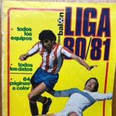 Coleccionismo deportivo: EXTRA REVISTA DON BALÓN LIGA 80 / 81 (1980 - 1981) - PÓSTER HÉRCULES DE ALICANTE . Lote 112448091