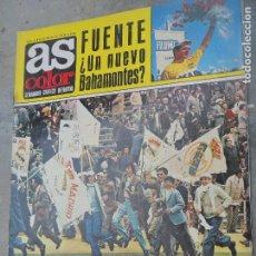 Coleccionismo deportivo: AS COLOR Nº 52 D 1972- REAL MADRID CAMPEON DE LIGA- POSTER UNION POPULAR DE LANGREO- ATLETICO MADRID. Lote 278955238
