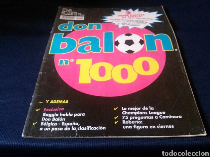 LOTE 2 REVISTAS DON BALON (Coleccionismo Deportivo - Revistas y Periódicos - Don Balón)