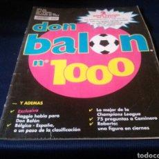 Coleccionismo deportivo: LOTE 2 REVISTAS DON BALON. Lote 112511435