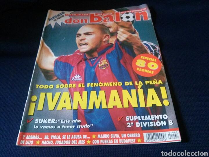 Coleccionismo deportivo: Lote 2 revistas Don Balon - Foto 2 - 112511435