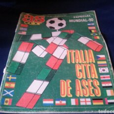 Coleccionismo deportivo: REVISTA AS COLOR ITALIA 90. Lote 112518446