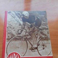 Coleccionismo deportivo: DIARIO MARCA. Nº142. 21-AGOSTO-1945. CAMPEONES ATLETICOS DEL FRENTE DE JUVENTUDES.. Lote 112569439